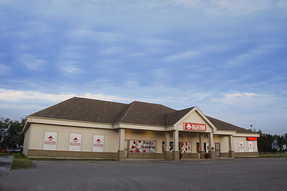Retail Store<br/> Location:  Miramichi, NB<br/> Building Area:  7,200ft2<br/> Constructed:  2007